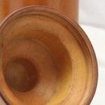 Huon pine bottle case